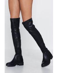 f696e054b4f667 Nasty Gal - We Knee-d To Talk Over-the-knee Boot -