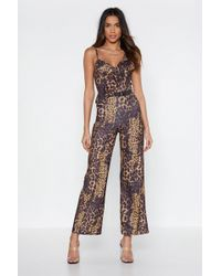 927ba40a23d Free People On The Run Jumpsuit By Fp Beach in Natural - Lyst