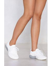 Nasty Gal - Knit The Road Trainer - Lyst
