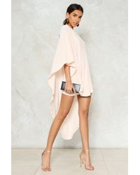 Nasty Gal - The Answer To Your Layers Dress The Answer To Your Layers Dress - Lyst