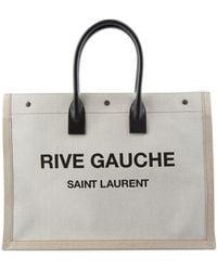 Saint Laurent - Bag Noe Cabas - Lyst
