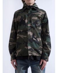 Valentino - Camouflage Jacket - Lyst