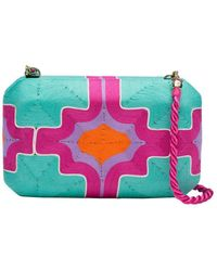Natori | Beatriz Clutch Hot Pink | Lyst