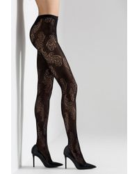 Natori - Feathers Net Tights - Lyst