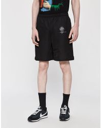 1804d98118 Off-White c/o Virgil Abloh Black Diagonal Arrows Shorts in Black for ...