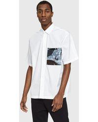 OAMC - Voodoo Shirt In White - Lyst