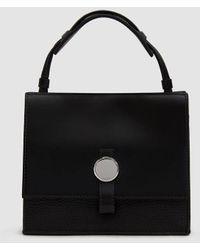 Kara - Baby Moon Leather Crossbody Bag - Lyst
