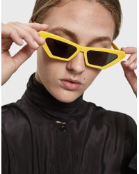 Chimi - Tiger Square Yellow Sunglasses - Lyst