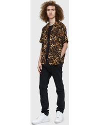 Gitman Brothers Vintage - Leopard Rayon Camp Shirt - Lyst