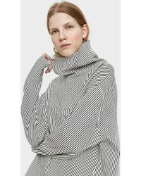 Ashley Rowe - Stripe Turtleneck Top - Lyst