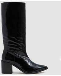 INTENTIONALLY ______ - Inferno Patent Leather Boot - Lyst