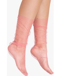 Need Supply Co. - Pink Tulle Sock - Lyst