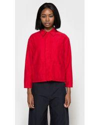 Caron Callahan - Krasner Jacket In Crimson - Lyst