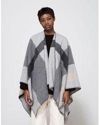 Just Female | Hilton Cape In Light Grey | Lyst