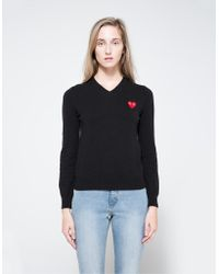 Need Supply Co. - Red Heart Play V-neck Pullover - Lyst