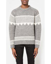 Need Supply Co. - B+snow Pattern Knit - Lyst