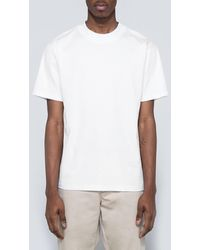 Acne Studios - Naples Lux Tee In Chalk White - Lyst
