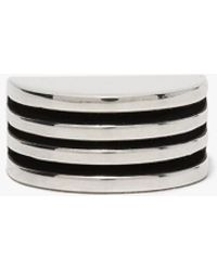 AGMES - Silver Boeri Ring - Lyst
