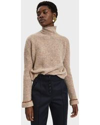 Paloma Wool Virgo Intarsia Knit Sweater In Natural Lyst