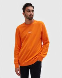 Obey - Corsaire Crew In Orange - Lyst
