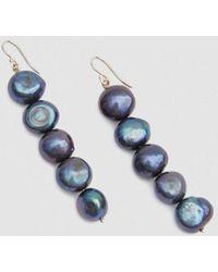 Trademark - Drop Baroque Pearl Earrings - Lyst