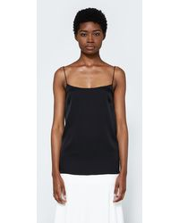 Land Of Women | Circle Camisole In Black | Lyst
