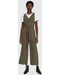 Farrow - Olivia Striped Jumpsuit - Lyst