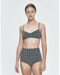 28436f2d25e84 Rachel Comey Revival Leopard-print Bikini Top - Lyst