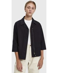 Margaret Howell - Mhl Elbow Sleeve Jacket - Lyst