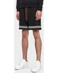 John Elliott - Soccer Shorts In Black - Lyst