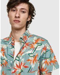 Saturdays NYC - Esquina Paradise S/s Shirt - Lyst