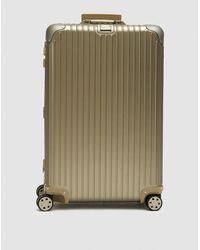 Rimowa - Topas Titanium 82 L Multiwheel® Electronic Tag Suitcase - Lyst