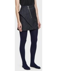 Hansel From Basel - Cashmere Tights In Navy - Lyst