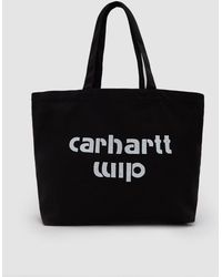 Carhartt WIP | Large Bronc Tote In Black / White | Lyst