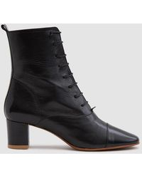 BY FAR - Lada Lace-up Boot - Lyst