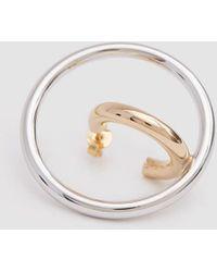Charlotte Chesnais - Single Large Saturn Blow Earring - Lyst
