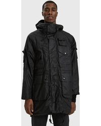 Engineered Garments - Barbour Zip Parka - Lyst