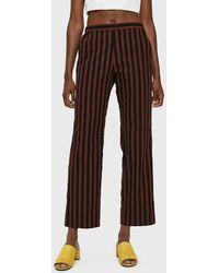 Rachel Comey - Mott Pull-on Pant In Brown Stripe - Lyst