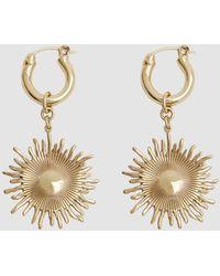 Ellery | Scully Small Sun Earrings | Lyst