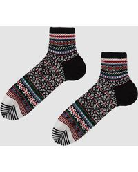 Chup - Ankle Sock In Denim - Lyst