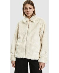 5fc47b23a0d2 Rachel Comey - Mob Faux Fur Jacket - Lyst