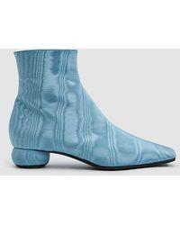Ellery - Chelsea Moire Boot - Lyst