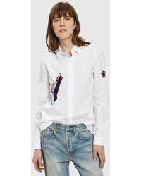 Bruta - Titanic Embroidered Shirt - Lyst