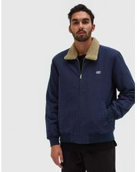 Obey - Clubber Jacket In Navy - Lyst