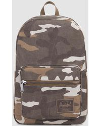 Herschel Supply Co. - Pop Quiz Cotton Canvas Backpack In Canvas Cub Camo - Lyst