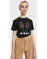 Bruta - Jester Embroidered Tee - Lyst