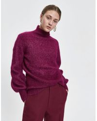 Just Female - Theo Mohair Knit - Lyst