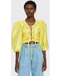 Toit Volant - Lilly Rose Top In Yellow - Lyst