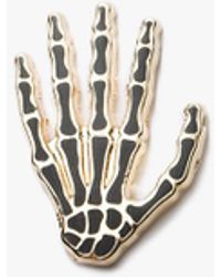 Prize Pins - Skeleton - Black & Gold - Lyst
