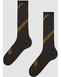 Hansel From Basel - Snake Knee Hi Sock - Lyst